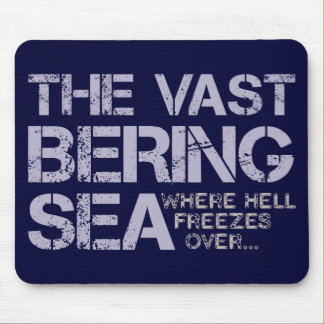 THE VAST BERING SEA MOUSE PADS