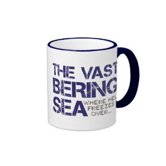 THE VAST BERING SEA... COFFEE MUGS