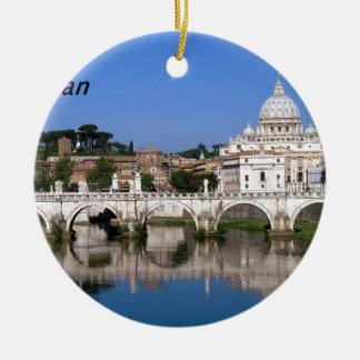 The-Vatican--[kan]-.JPG Round Ceramic Decoration