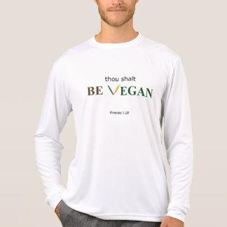 The Vegan Commandment - long sleeve for me Tees