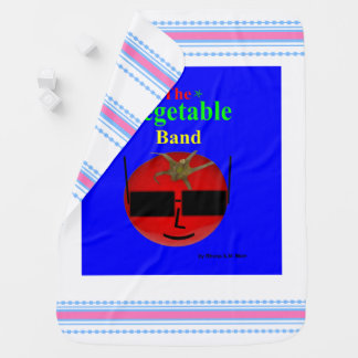 The Vegetable Band PB Baby Blanket