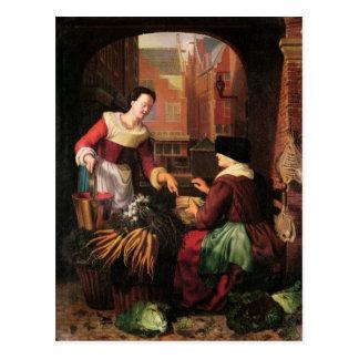 The Vegetable Seller Postcard