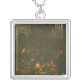 The Vegetable Stall Silver Plated Necklace