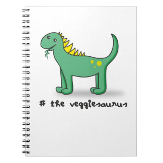 the veggiesaurus notebooks
