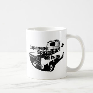 The vehicle which carries Japanese barrel mind, it Coffee Mug