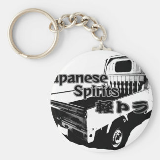 The vehicle which carries Japanese barrel mind, it Key Ring