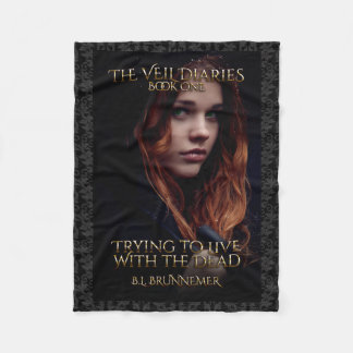 The Veil Diaries Book I Fleece Blanket