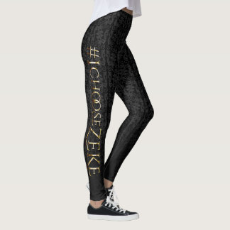 The Veil Diaries #iChooseZeke Leggings
