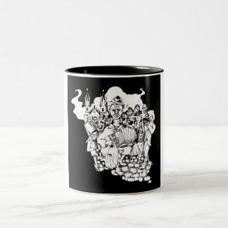 The Velvet Carnival 2-Tone Mug