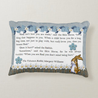 """The Velveteen Rabbit"" Accent Pillow"