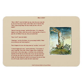 The Velveteen Rabbit - What is Real? Magnet