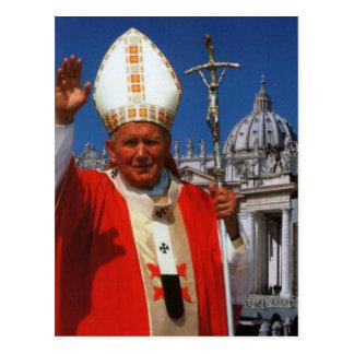 The Venerable Pope John Paul II Postcard