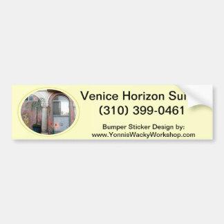 The Venice Horizon Suites Car Bumper Sticker