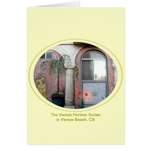 The Venice Horizon Suites Card