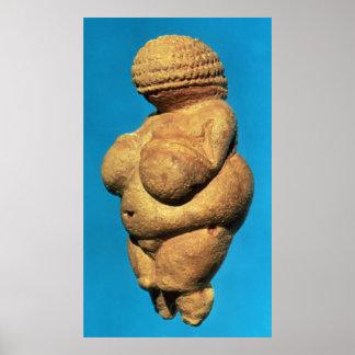 The Venus of Willendorf Poster