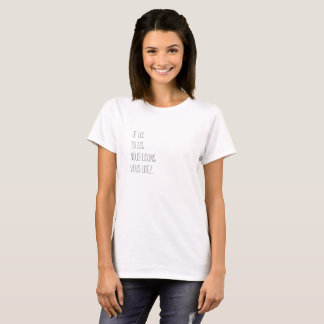 The verb lira is only combined or with several T-Shirt