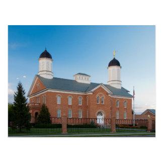 The Vernal Utah LDS Temple Postcard
