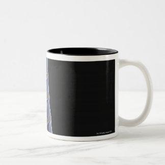 The Vertebral Column 3 Two-Tone Coffee Mug