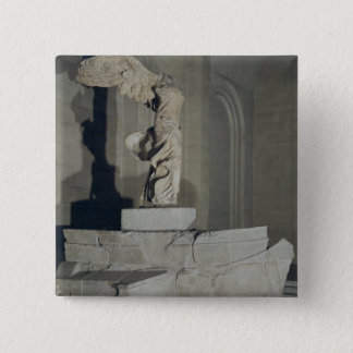 The Victory of Samothrace 15 Cm Square Badge