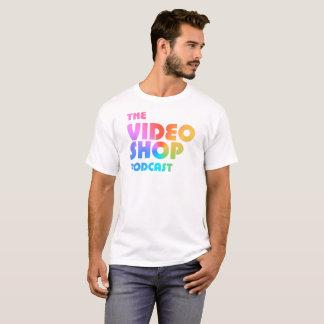 The Video Shop Podcast Logo T-Shirt