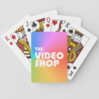 The Video Shop Podcast Playing Cards