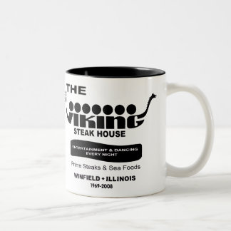 The Viking Steak House, Winfield, IL (1969-2008) Two-Tone Coffee Mug