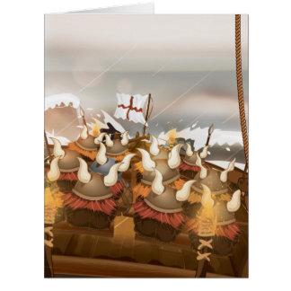 The Vikings Big Greeting Card
