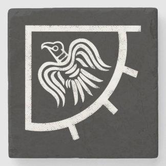 The Vikings Raven Banner Flag Stone Coaster