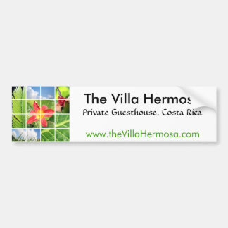 The Villa Hermosa Sticker Bumper Sticker