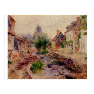 The Village by Pierre-Auguste Renoir Postcard
