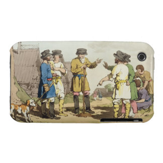 The Village Council, etched by the artist, publish iPhone 3 Case