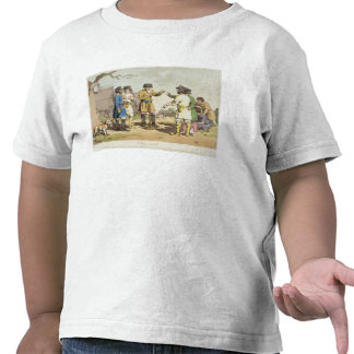 The Village Council, etched by the artist, publish Tee Shirts