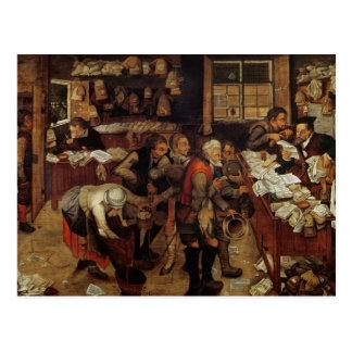 The Village Lawyer, 1621 Postcard