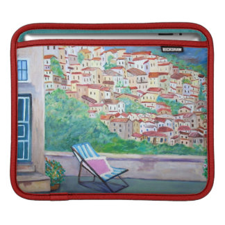 The Village of Apricale -  iPad pad Horizontal iPad Sleeve