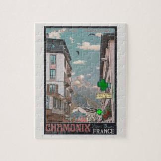 The Village of Chamonix - BonW Jigsaw Puzzles