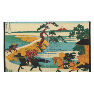 The village of Sekiya on the Sumida River iPad Folio Case