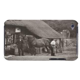 The village smithy sepia photo iPod Case-Mate cases