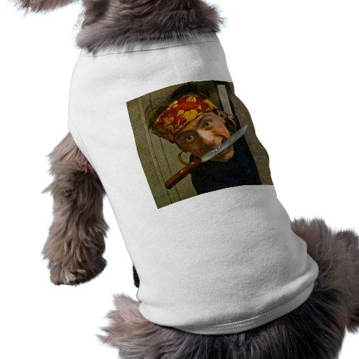 The Villian Vintage Stereoview Doggie Tee Shirt