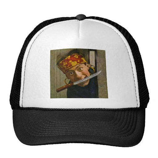 The Villian Vintage Stereoview Mesh Hats