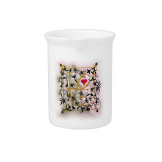 The Vines of Love Beverage Pitchers