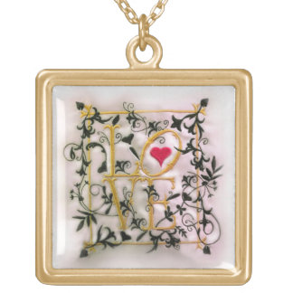 The Vines of Love Gold Necklace