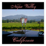The Vineyards of Napa Valley Poster