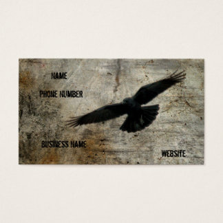 The Vintage Crow Business Card