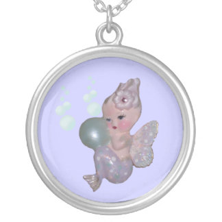 THE VINTAGE MERMAID MER-FAIRY NECKLACE