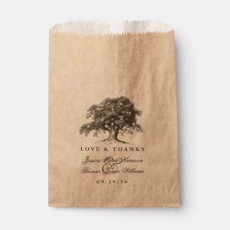 The Vintage Old Oak Tree Wedding Collection Favour Bag