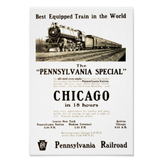 The Vintage Pennsylvania Special Poster