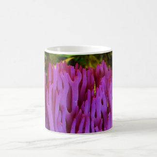 The Violet Coral Fungus Clavaria Zollingeri Mugs