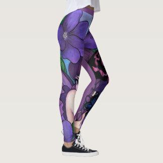 The Violet Fairy leggings