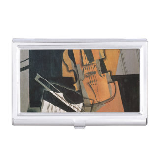 The Violin, 1916 Case For Business Cards