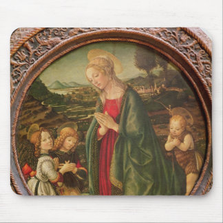 The Virgin Adoring the Christ Child Mouse Pad